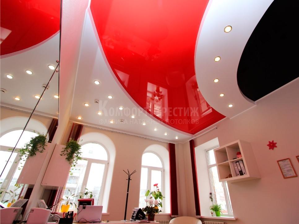 многоуровневые потолки показать фото